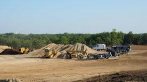 golf course construction materials